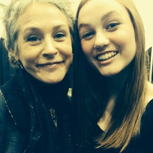 Melissa McBride & Madison Lintz [Photo du jour]