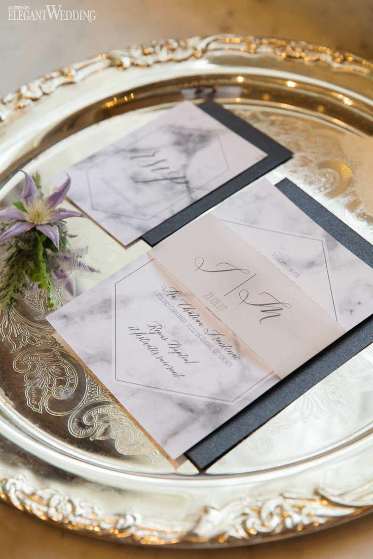 Grey and Gold Winter Wedding Inspiration | ElegantWedding.ca