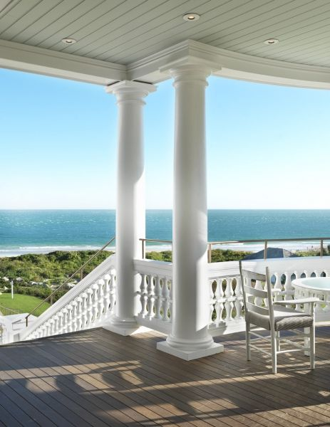 Relais & Chateaux - Perched high up on the bluffs of Watch Hill, Ocean House is one of the last remaining oceanfront hotels in New England. Ocean House, USA #relaischateaux #landscape