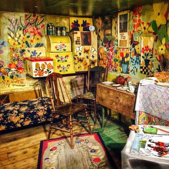 Maud Lewis S Sweet Painted House N O V A S C O T I A