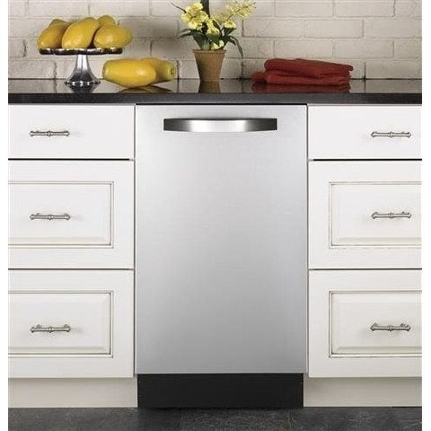 Haier QDT125SSKSS 18 Inch Fully Integrated Dishwasher (Stainless Steel (Silver) - Top Control - 18 in.)