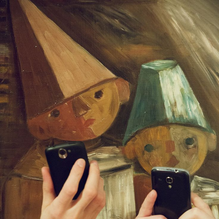 Our works of art, when they think nobody's watching... - National Museum in Krakow