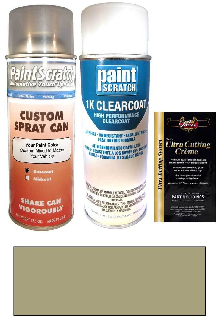 1992 jeep all models sand beige matt metallic touch up paint spray can kit original factory oem automotive paint color match guaranteed