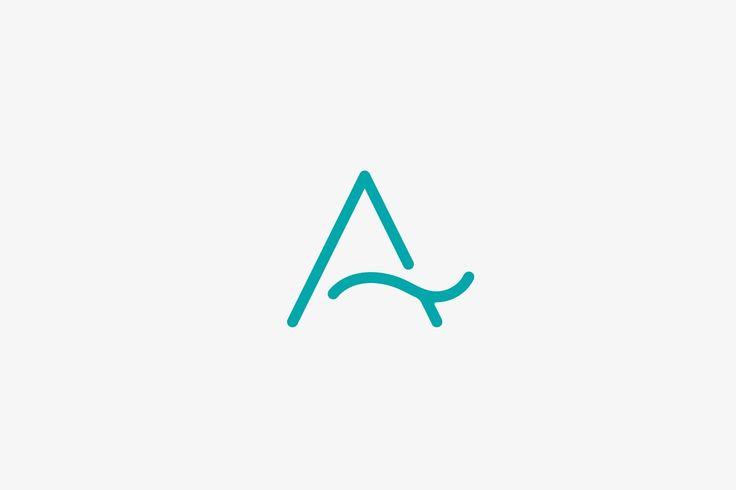 A Letter Logo / Aqua Logo