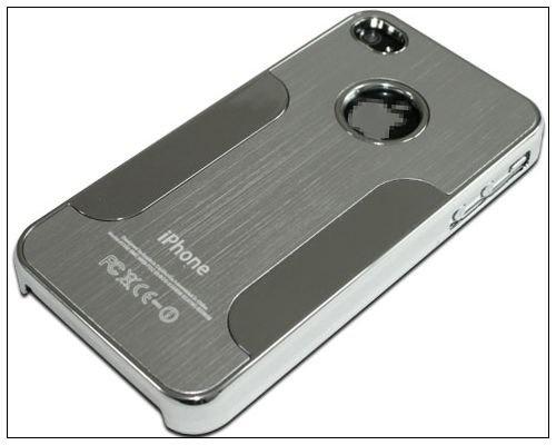 Premium Chrome Aluminum Skin Hard Back Case Cover for Apple iPhone 4 4G 4S  Silver  4.14 b8b396b67f