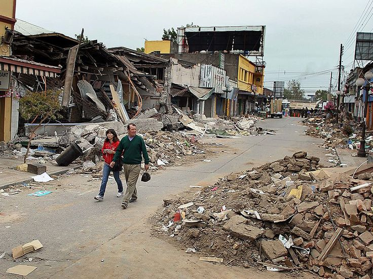 A decade of continuous GPS measurements in South America indicates that enhanced strain accumulation following a great earthquake can initiate failure along adjacent fault segments.