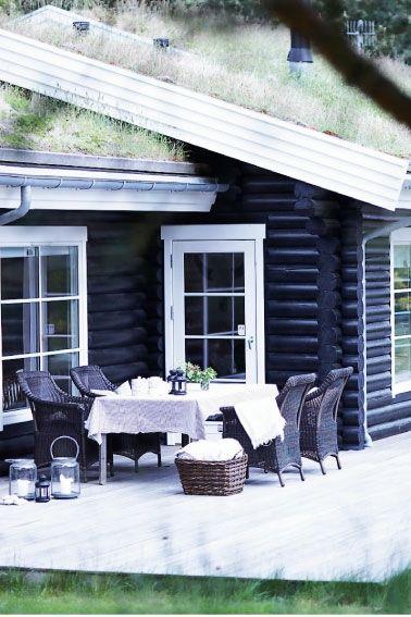 Smukt og rustikt bjælkehus - Femina.dk