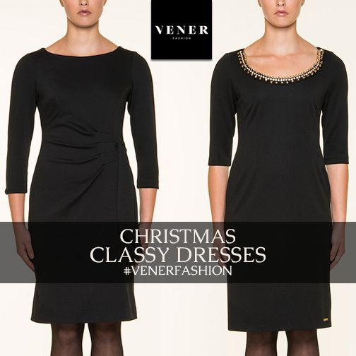 Christmas is coming!!! VENER fashion everywhere!