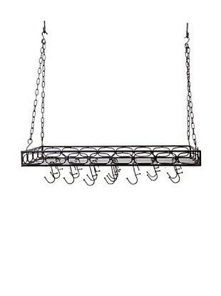 44% OFF Old Dutch International 16-Hook Medium-Gauge Rectangular Hanging Pot Rack