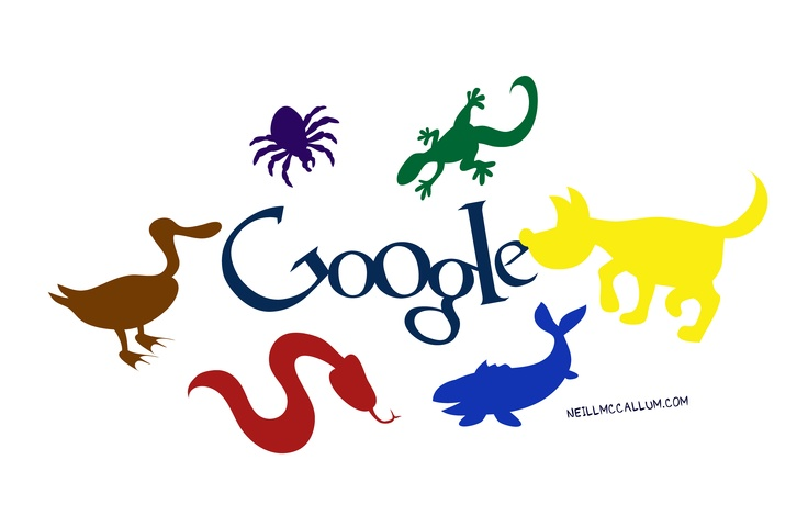 """October 4th - Happy """"World Animal Day""""    See some weird and amazing animals at the blog http://www.sketchyneill.com"""