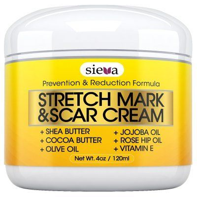 Stretch Marks & Scars Cream - Best for Stretch Mark Removal - Body Moisturizer for Prevention and Reduction of Old & New Scars - Natural & Organic for Pregnancy, After Birth, Women, & Men - By Sieva Skincare - http://alternative-health.kindle-free-books.com/stretch-marks-scars-cream-best-for-stretch-mark-removal-body-moisturizer-for-prevention-and-reduction-of-old-new-scars-natural-organic-for-pregnancy-after-birth-women-men-by-sieva-s/