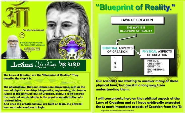 The physical laws that our sciences are discovering, such as the laws of physics, chemistry, biogenetics, engineering, etc. form a subset of the spiritual laws of Creation, because spirit controls the material world.  Matter is the physical manifestation of a spiritual idea.  And since the Creational laws are built on logic, the physical laws must also conform to logic.