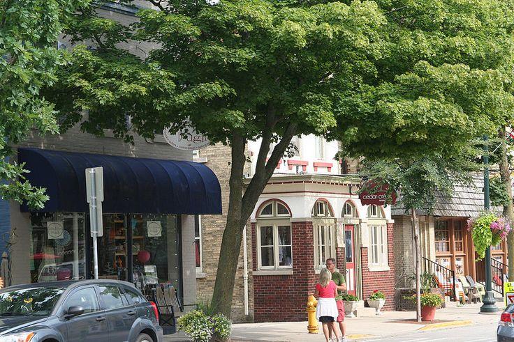 Restaurants Downtown Cedarburg Wi