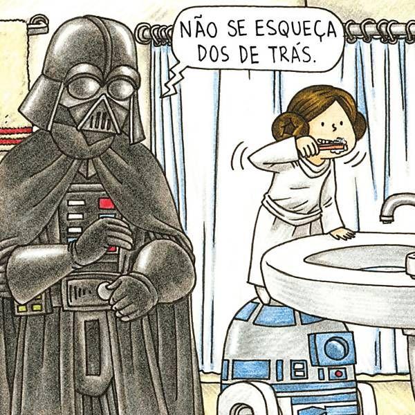 Folha de S.Paulo - Livraria da Folha - Série de livros retrata Darth Vader como pai exemplar; veja imagens - 31/07/2015