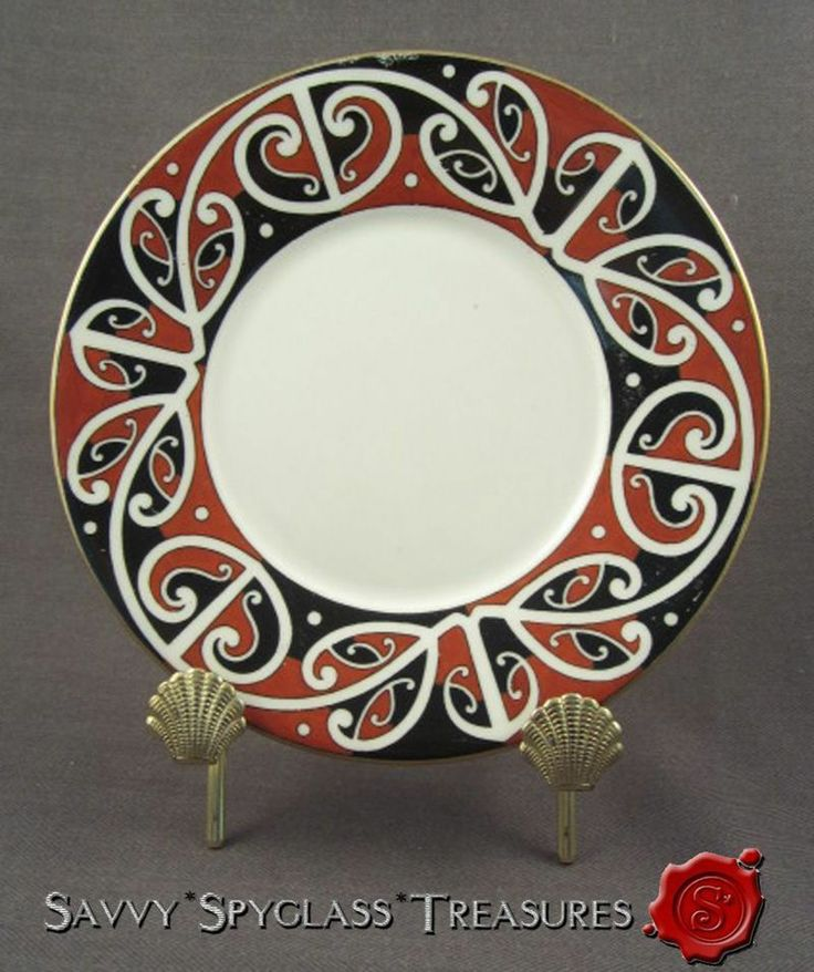 "Circa 1907 Royal Doulton Maori Art Series Ware 6.75"" Tea Plate.....SOLD!"