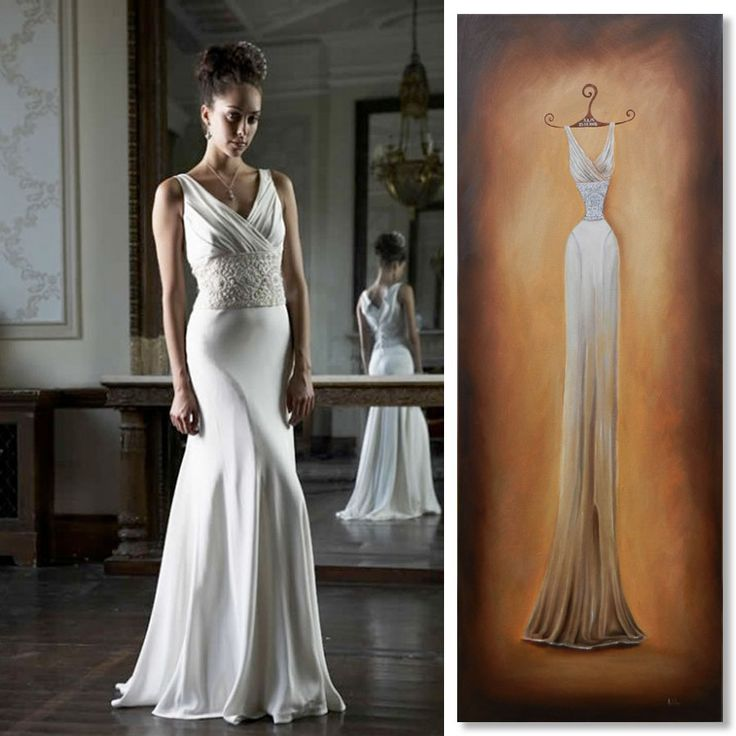 17 best images about wedding dress portraits by appleberry for Painted on wedding dress