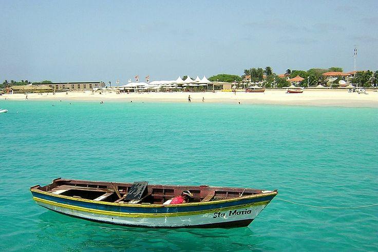Santa Maria Beach ,  Sal Island,Cape Verde