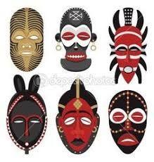 """Képtalálat a következőre: """"mascaras africanas diy"""""""
