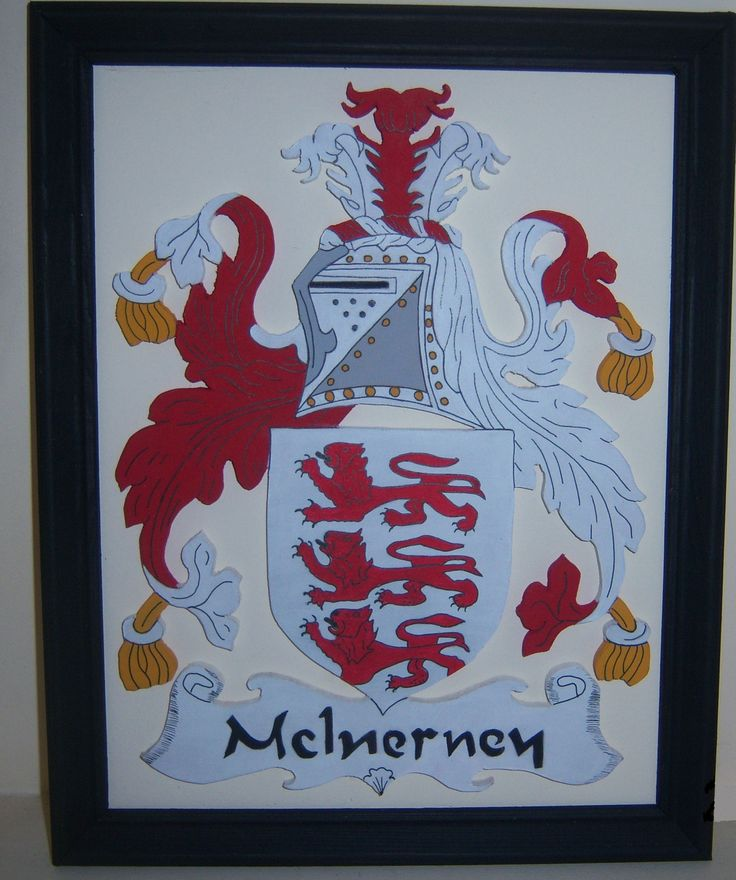 3D coat of arms available in various names. Please contact us for more details prices start from €65