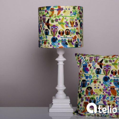 Lampa w sowy. Projektant: MAIRO. Do kupienia w atelio.pl