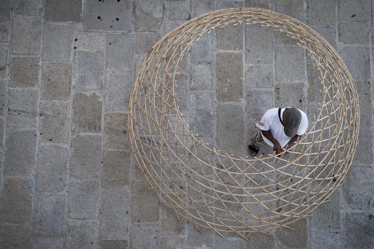 Galería de Proyecto WARKA: Torres de bambú que recogen agua potable del aire - 10
