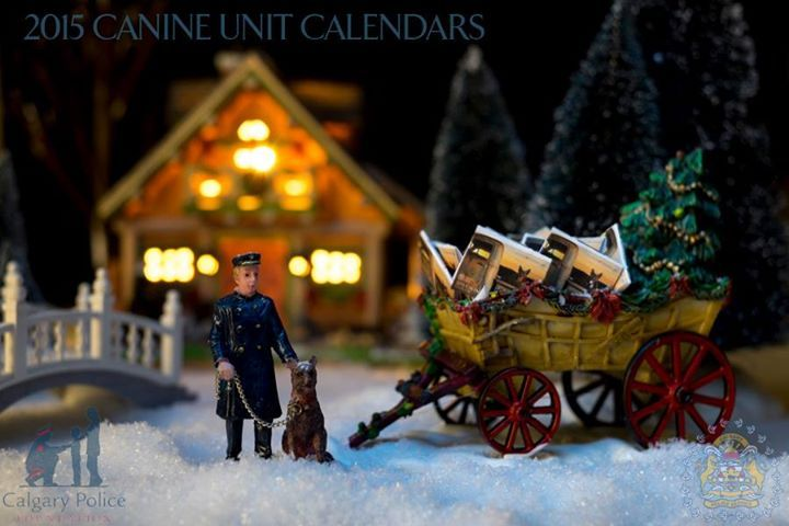 Calgary Police Service 2015 Canine Unit Calendar   13-month calendar for the year 2015, highlighting the working dogs of the Calgary Police Service. This calendar supports the Calgary Police Foundation, with all proceeds going towards programs for youth and families.
