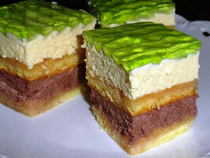 rozczochrane okruszki: Ciasto serowe bez sera - torcik serowy.
