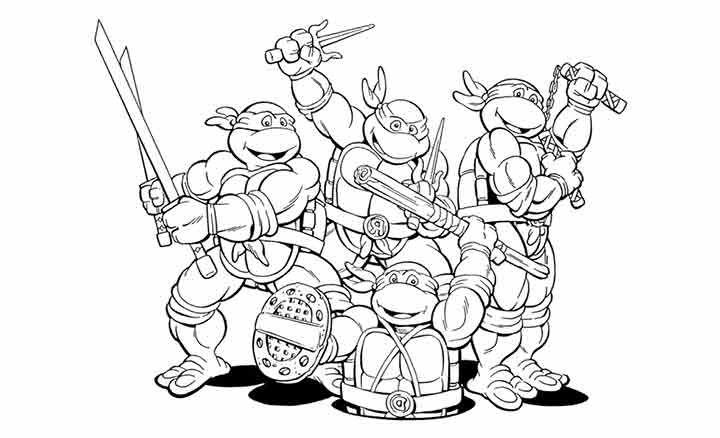 Top 25 Free Printable Ninja Turtles Coloring Pages Online Turtle Coloring Pages Ninja Turtle Coloring Pages Superhero Coloring Pages