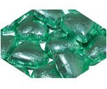 A bulk 1kg bag of Dolci Doro Ice Green Chocolate Hearts.