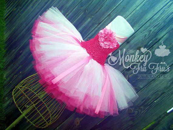 Pink TuTu Dress  Pretty in Pink Princess  Birthday Easter