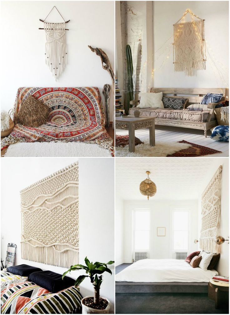 How to decorate with Macrame Gorgeous macrame ideas and inspirations