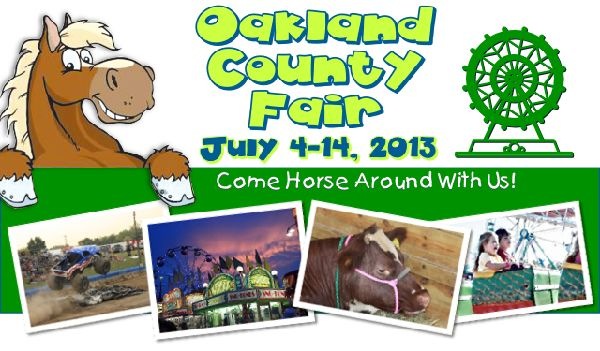 Oakland County Fair - July