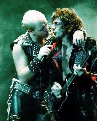 Rob and Glenn, Screaming for Vengeance tour 1982