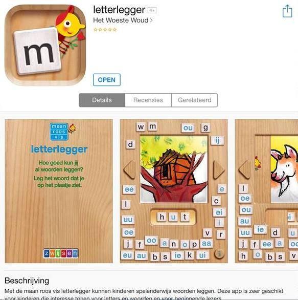 Letterlegger: een leuke app om te gebruiken in het eerste leerjaar om de letter…