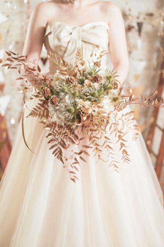 Babb Photo Rustic Wedding FlowersCopper