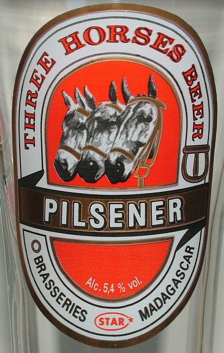 I know, I know; who'd figure that my Top 10 list would contain a beer from Madagascar (lol) but it's a great tasting, full bodied beer, and the colder you can get it, the better it is. One of the reasons why is that it's over 5% alcohol if I remember correctly.
