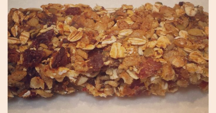 Healthy nut-free sugar-free muesli bars