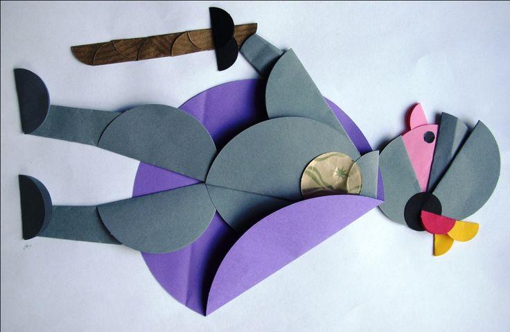 Bajkowe postacie origami - Rycerz Szaławiła