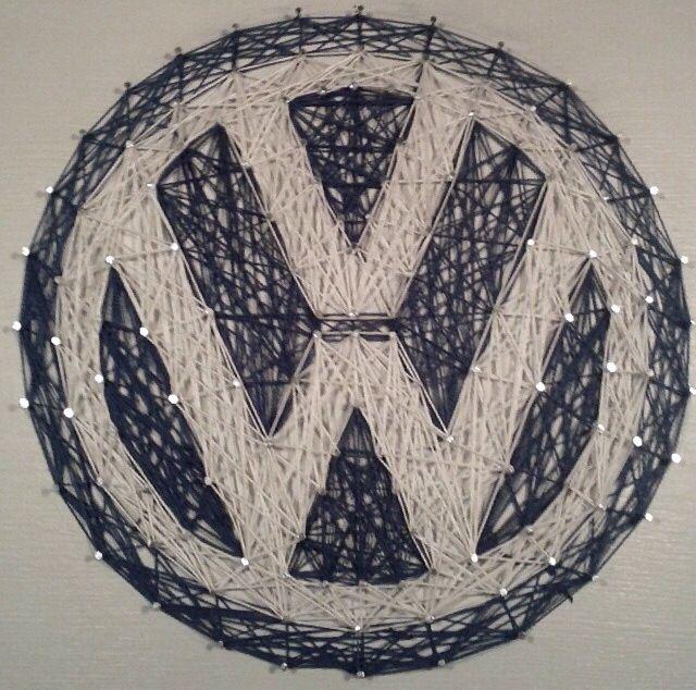 VW string art