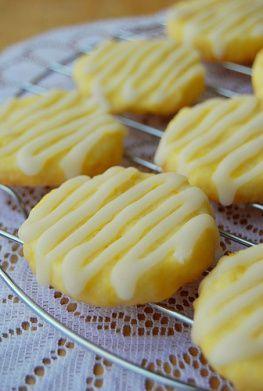 Lemon Butter Cookies - http://www.cookingclassy.com/2013/01/glazed-lemon-cookies/