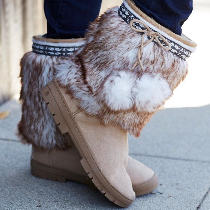The Ultimate Fuzzy Boots for Winter 2015