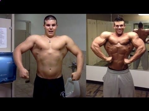 CRAZY STEROID TRANSFORMATION – BEFORE AND AFTER (LESS THAN A YEAR!)