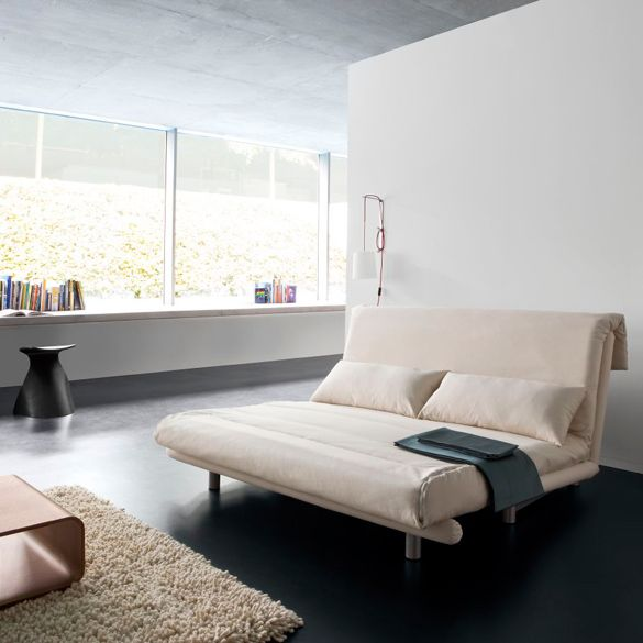 ligne roset multi sofa bed in orange multy is a uniquely designed sofa. Black Bedroom Furniture Sets. Home Design Ideas