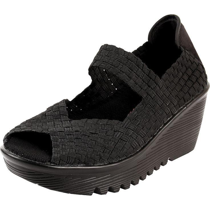 Aravon Mary Jane Mule Shoes Heels