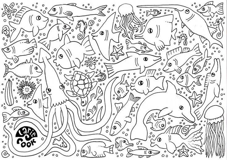 larie cook vissen kleurplaat jpg image kleurplaten
