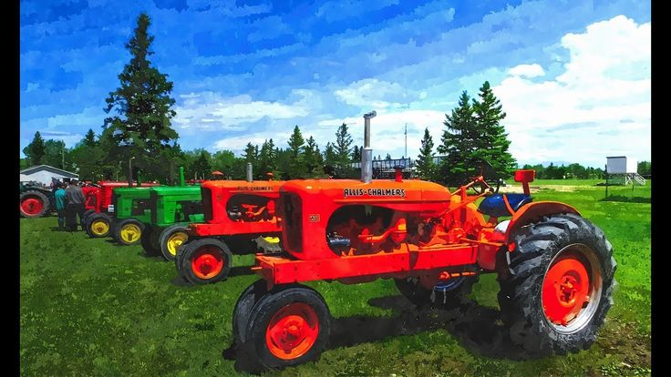 Tractor Trek   2017 in Richer, Manitoba