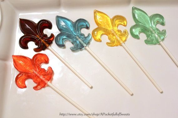 FLEUR De LIS Barley Sugar Hard Candy  $17.99