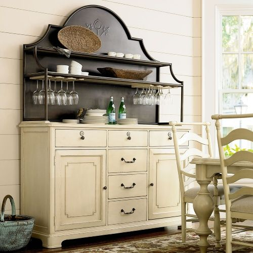 River House Kitchen Island By Paula Deen By Universal: Paula Deen River House Home Cooking Cupboard & Hutch