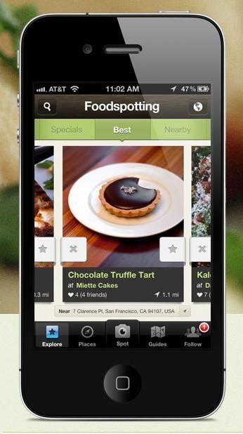Foodspotting #mobile #ui