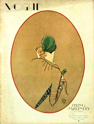 Porter Woodruff, Vogue, magazine cover, March 01 1926 on Flickr.    #flapper #1920s #vintage